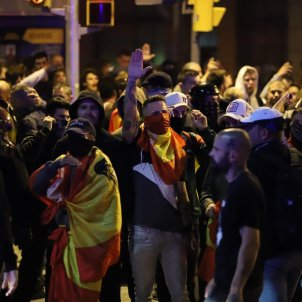 Manifestacio ultra plaça artos antifeixistes - Pau Venteo
