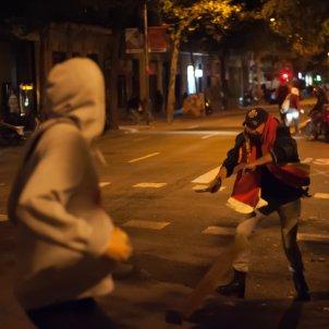 feixista amb matxet ganivet aldarulls sentencia Barcelona El Nacional