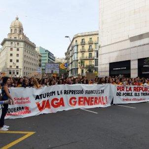 vaga general 18O estudiants carrer Pelai El Nacional