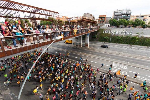 EN- Marcha por|para la Libertad meridiana Pau Venteo