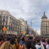 Manifestació estudiants   Bruna Maneja