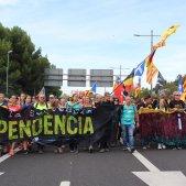 Marxa per la Llibertat Diagonal   Anton Rosa