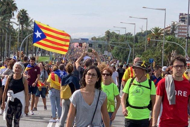 Marcha por|para la Libertad Diagonal Marta Lasalas