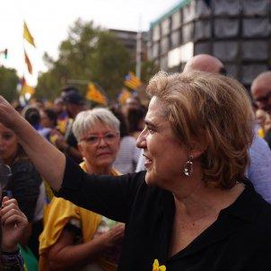 Pilar Rahola manifestacio vaga general - Guillem Camós