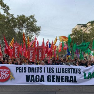 ELNACIONAL vaga general 18-o intersindical - marta lasalas