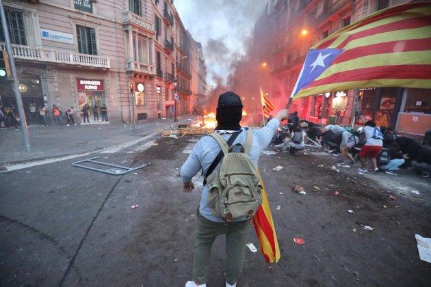 barricades aldarulls urquinaona vaga general -