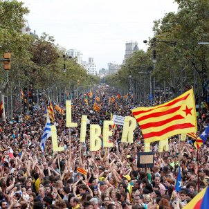 manifestació Barcelona vaga general EFE