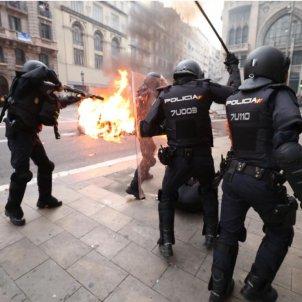 Policia espanyola Via Laietana Pau Venteo