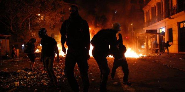 barricadas urquinaona vaga general - Sergi Alcàzar