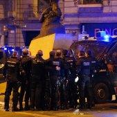 Policia Nacional Mossos protestes sentencia - Guillem Camós