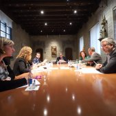 Reunio generalitat disturbis catalunya - Govern