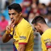 Luis Suarez Leo Messi Eibar Barca EFE