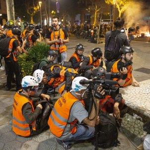 Periodistes Manifestacio Aldarulls Sentencia Proces - Sergi Alcazar