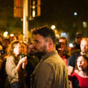 Rufian davant el TSJC escridassat - Guillem Camós
