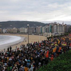 manifestació Sant Sebastià ANC