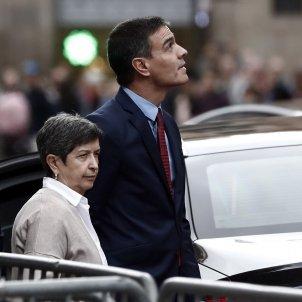 Pedro Sánchez Teresa Cunillera Barcelona 12 octubre Efe
