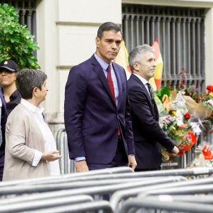 Teresa Cunillera Pedro Sánchez Prefertura Policia EFE