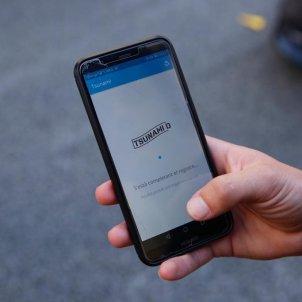 EL NACIONAL app tsunami democratic mobil - sergi alcazar