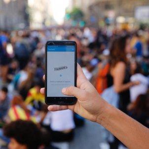 EL NACIONAL app tsunami democratic mobil - Sergi Alcàzar