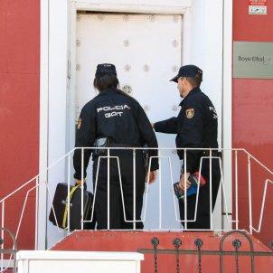 Policia escorcoll despatx Gonzalo Boye ACN