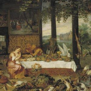 Jan Brueghel I & Peter Paul Rubens   El gusto 'El club dels sibarites' Tanizaki (Museo del Prado)