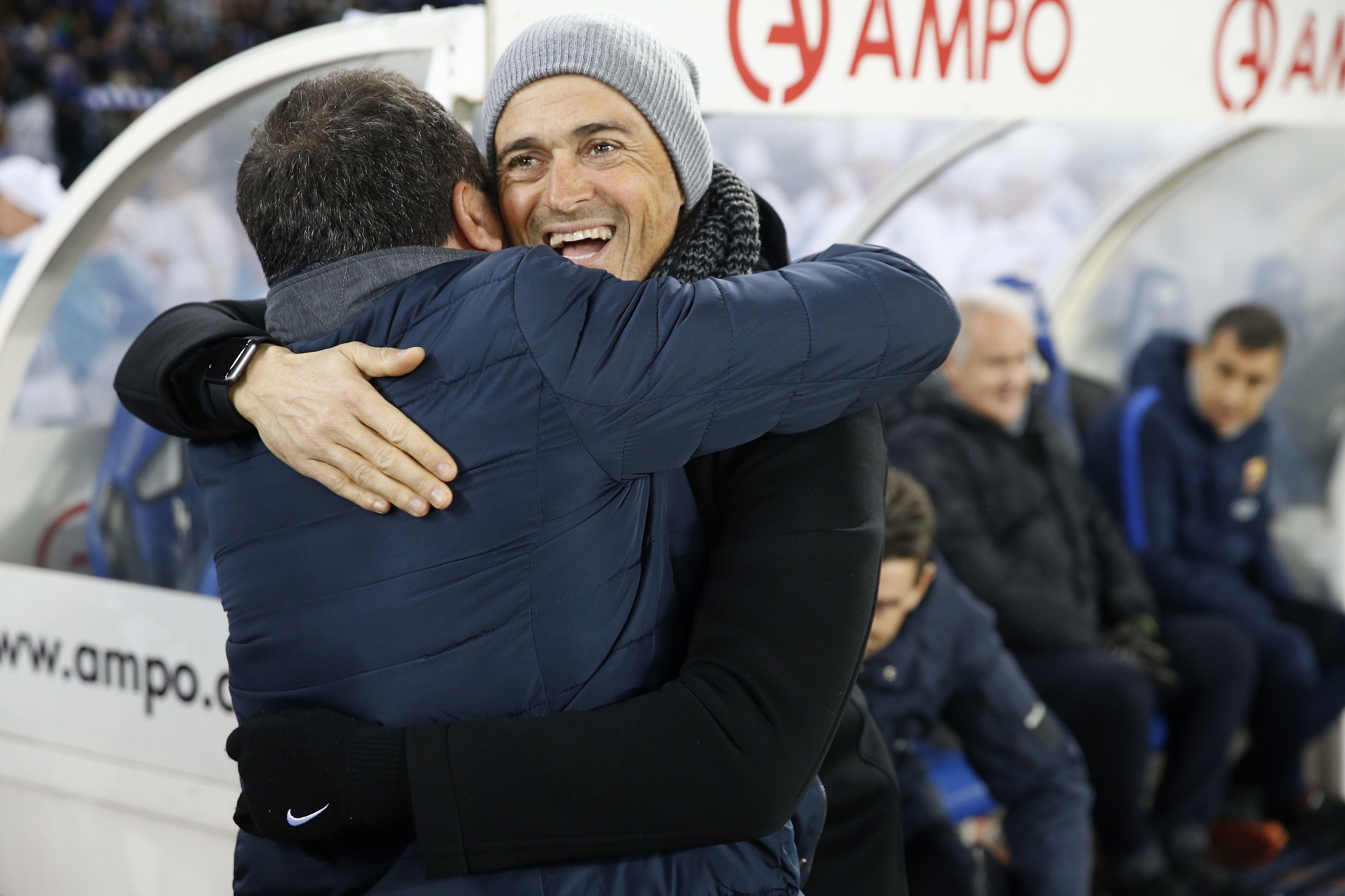 Luis Enrique Eusebio Copa del Rei Anoeta   EFE