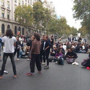 Estudiants UB tallen Gran via sentència Núria Casas