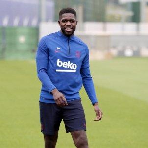 Samuel Umtiti entrenament octubre Barca @FCBarcelona