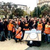 Manifestacio agressio periodites - Carlota Camps
