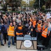 EL NACIONAL manifestacio mitjans premsa rebuig agressions - sergi alcazar