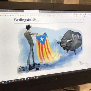 Berlingske Tidende Catalunya policia