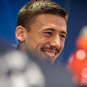 Clement Lenglet Barca Previa Champions League Slavia Praga EFE