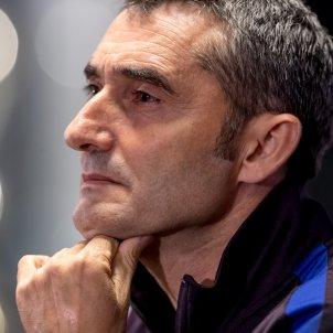 Ernesto Valverde Barca Slavia Praga previa Champions EFE
