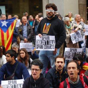 Manifestació prefectura policia Via Laietana 7   Sergi Alcàzar
