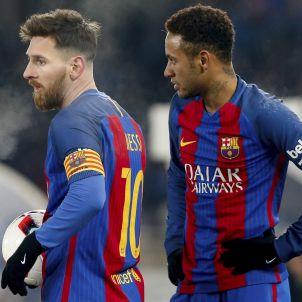 Leo Messi Neymar Barça Reial Societat Copa EFE