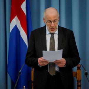 president parlament islandès Steingrímur J. Sigfússon - @josepalay