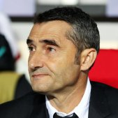 Ernesto Valverde Barca Slavia Champions EFE