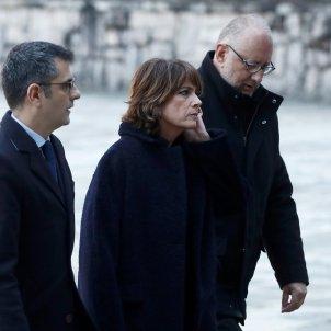 Exhumació Franco Felix Bolaños, Dolores Delgado i Antonio Hidalgo López Valle de los Caídos EFE