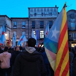 Manifestació Galiza con Catalunya Galícia presos sentència Europa Press