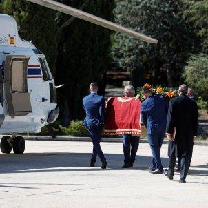 Exhumació Franco fèretre helicòpter Valle de los Caídos EFE