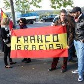 francisco franco manifestants valle caidos - acn