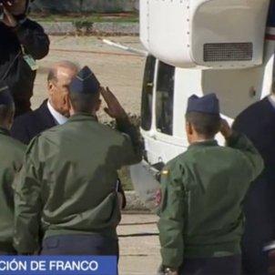 TVE salutació militar familia Franco