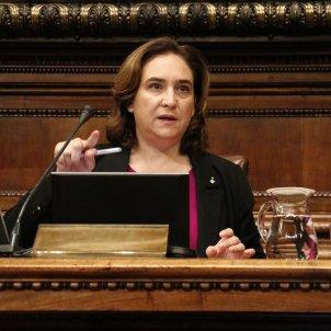 Ada Colau ple Ajuntament de Barcelona 25 octubre ACN