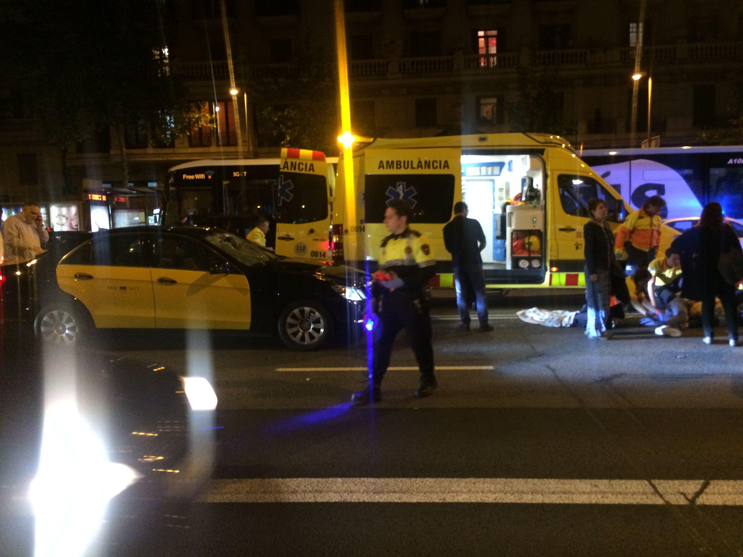 atropellament Barcelona / ACN