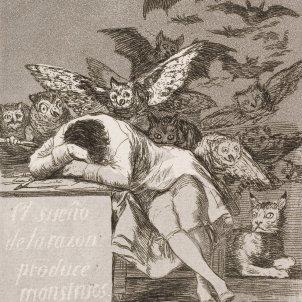 El sueño de la razón produce monstruos (Francisco de Goya)