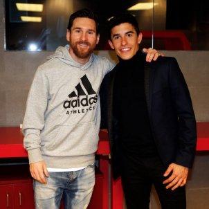 Leo Messi Marc Márquez @marcmarquez93
