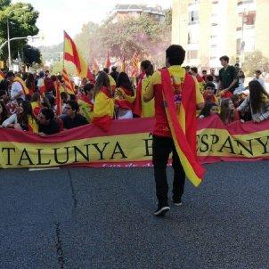 Marxa unionistes Artos El Nacional Marc González Via Augusta