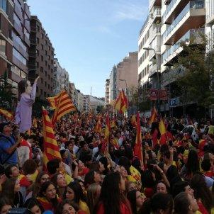 centenars manifestants artos marc gonzalez