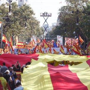 ELNACIONAL manifestació unionista 27 O espanyolista Mireia Comas