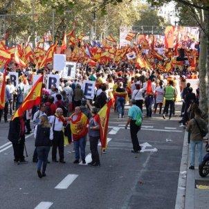 manifestacio unionista punxada marc ortin